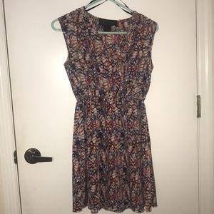 Fun, multicolored dress